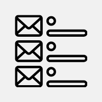 Our team will compile a mailing list of your target market.