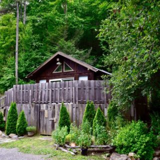 Exterior of Garden Cabin - The Cove at Fairview - Vacation Rentals - Asheville, NC