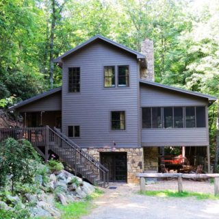 The Huntley Cabin - The Cove at Fairview Vacation Rentals - Asheville NC