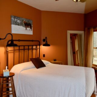 The second downstairs bedroom at My Place - The Cove at Fairview - Vacation Rentals- Asheville, North Carolina