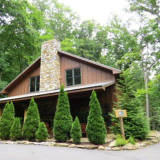 Exterior of My Place - The Cove at Fairview - Vacation Rentals- Asheville, North Carolina