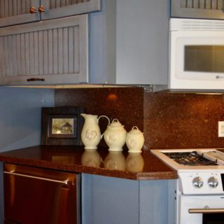 My Roundette kitchen - The Cove at Fairview - Vacation Rentals - Asheville, NC