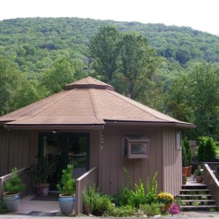 Exterior of My Roundette - The Cove at Fairview - Vacation Rentals - Asheville, NC