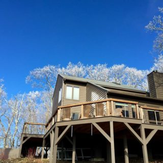Prayer Ridge is passive solar - The Cove at Fairview vacation rental - Asheville, North Carolina