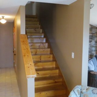 Prayer Ridge stairs - The Cove at Fairview vacation rental - Asheville, North Carolina