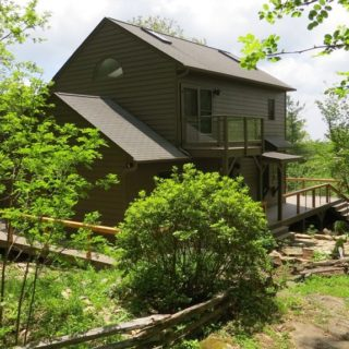 Exterior of Prayer Ridge - The Cove at Fairview vacation rental - Asheville, North Carolina