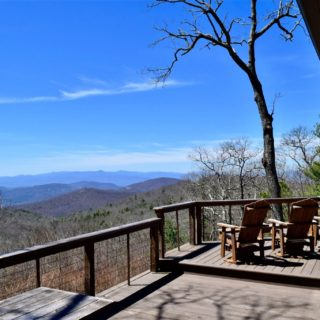 Prayer Ridge porch is beautiful - The Cove at Fairview vacation rental - Asheville, North Carolina