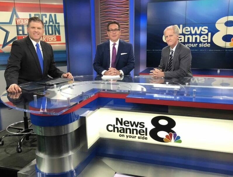 Reggie Garcia at News Channel 8 Tampa Discussing Ex-Felon Voting Rights
