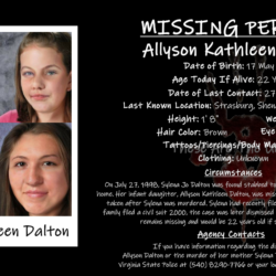 Sylena Dalton Murder And Infant Allyson's Kidnapping Unsolved 20 Years Later