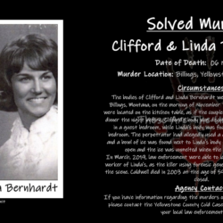 SOLVED: The Double Homicide of Linda and Clifford Barnhardt