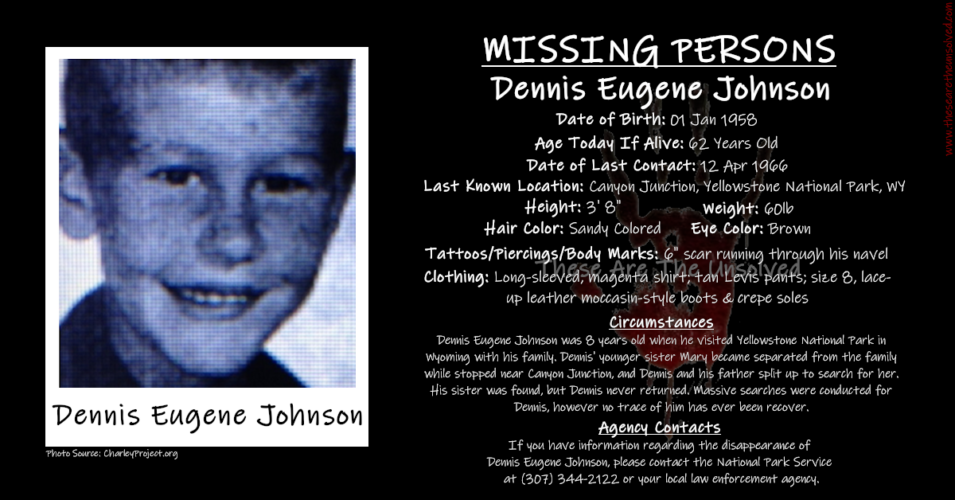 A Picnic In Yellowstone: Where Is Dennis Johnson?