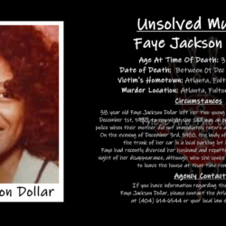 Murdered Math Teacher: Who Killed Faye Jackson Dollar?