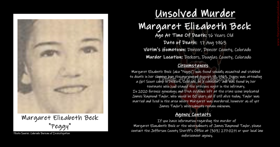 Miss Margaret Beck: The Other Girl Scout Murder