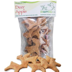 Deer-Apple-Dog-Treats