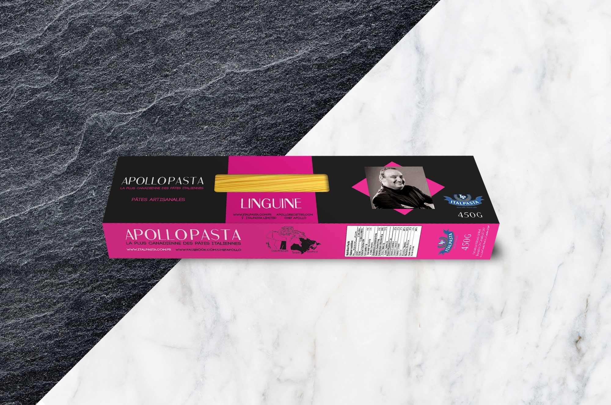 Boîte de Linguine - packaging