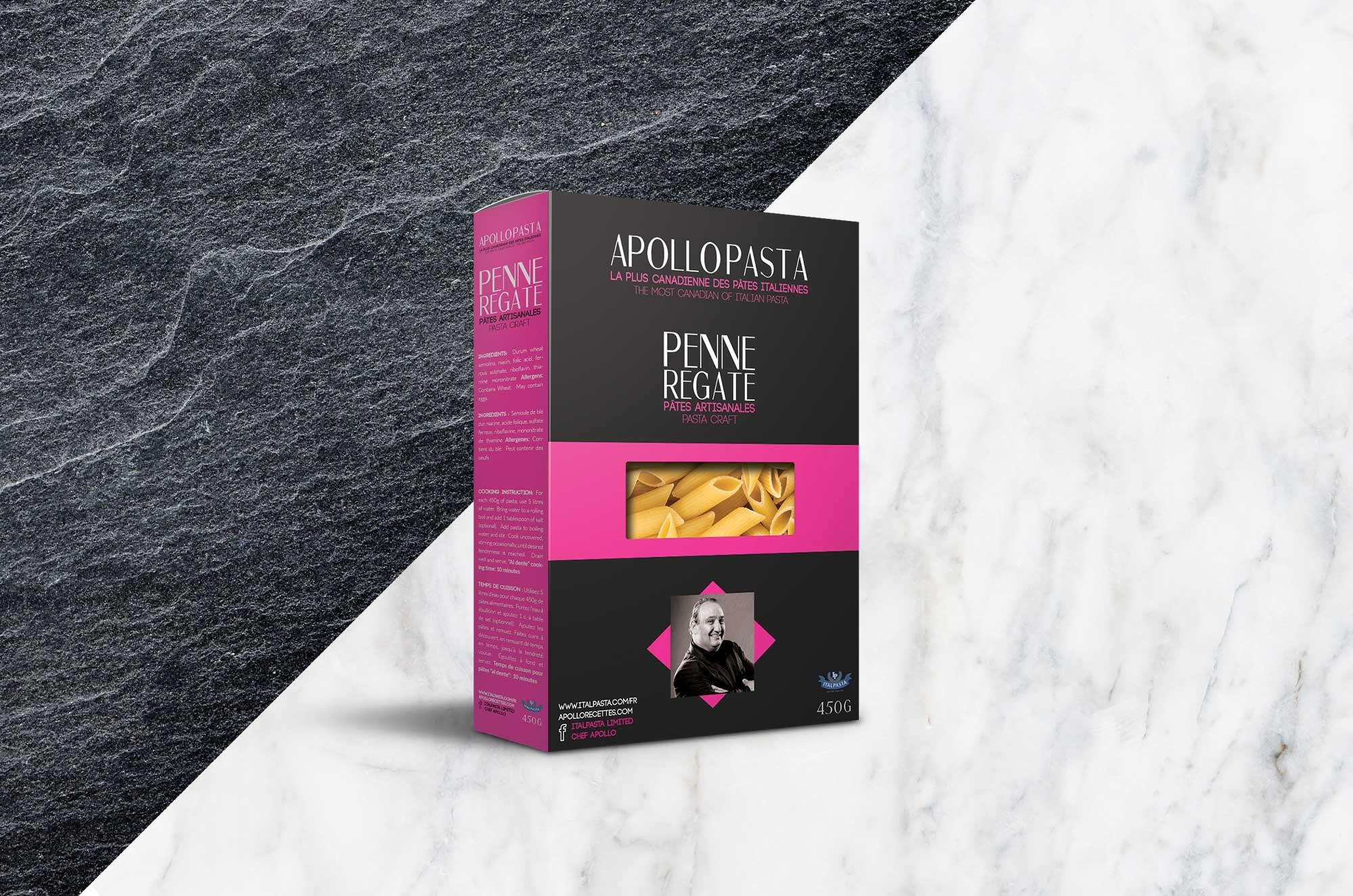 Boîte de Penne - packaging