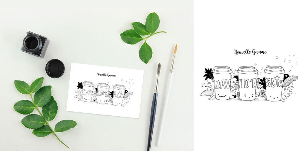 David Estie illustrations