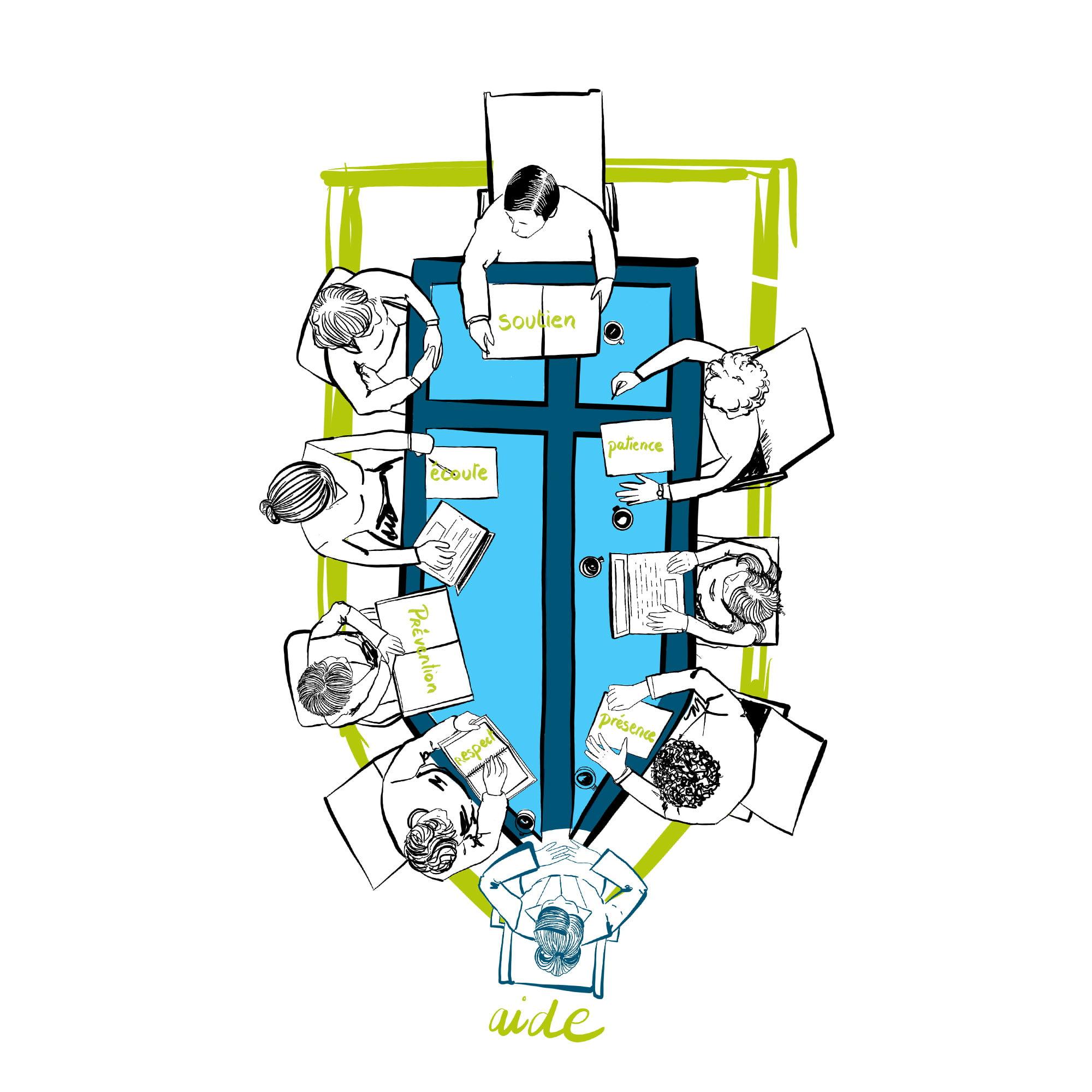 illustration conception affiche