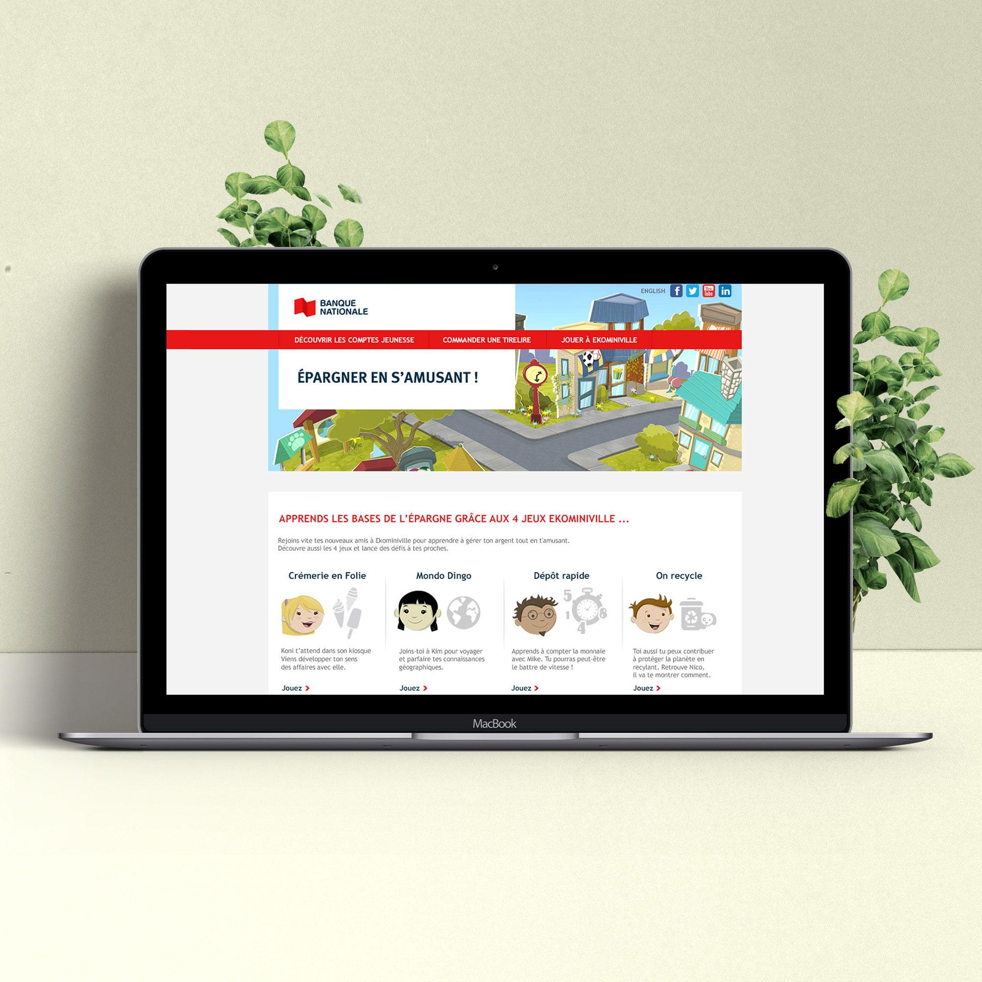 Econoville website