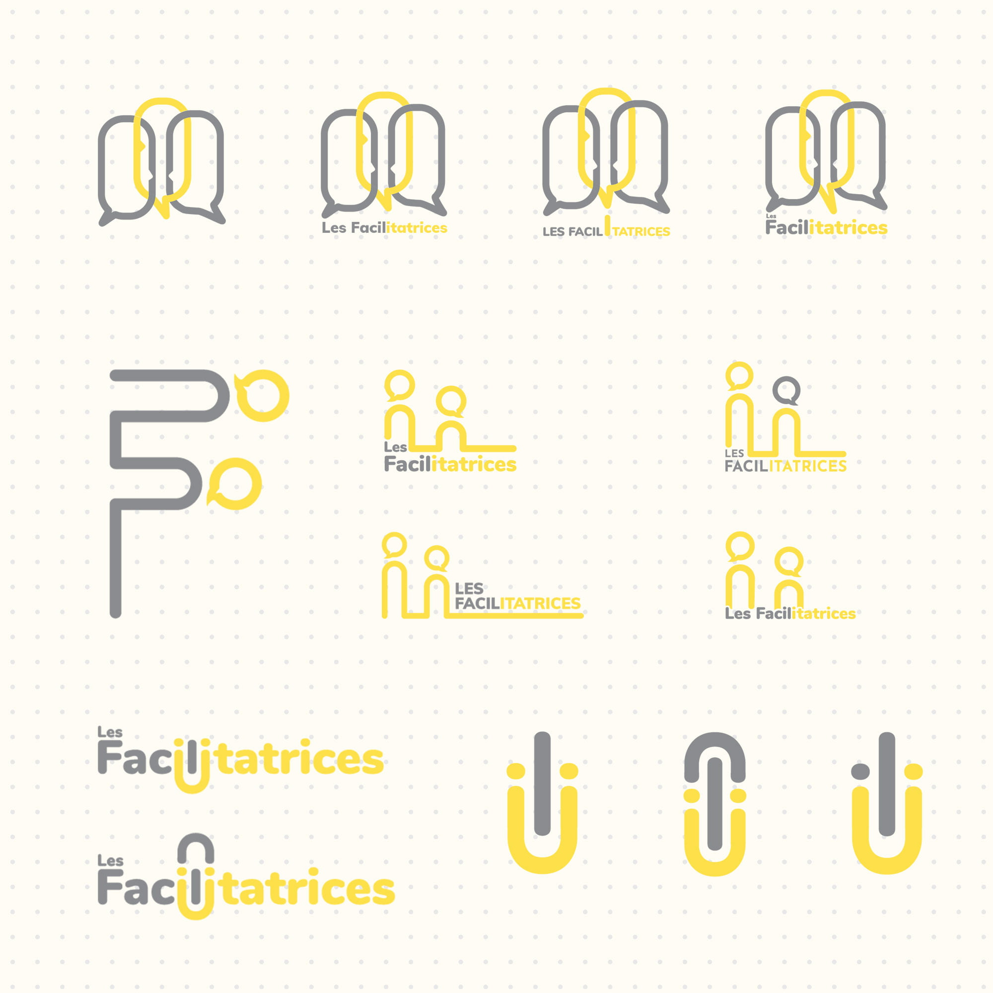 Les Facilitatrices logo recherche
