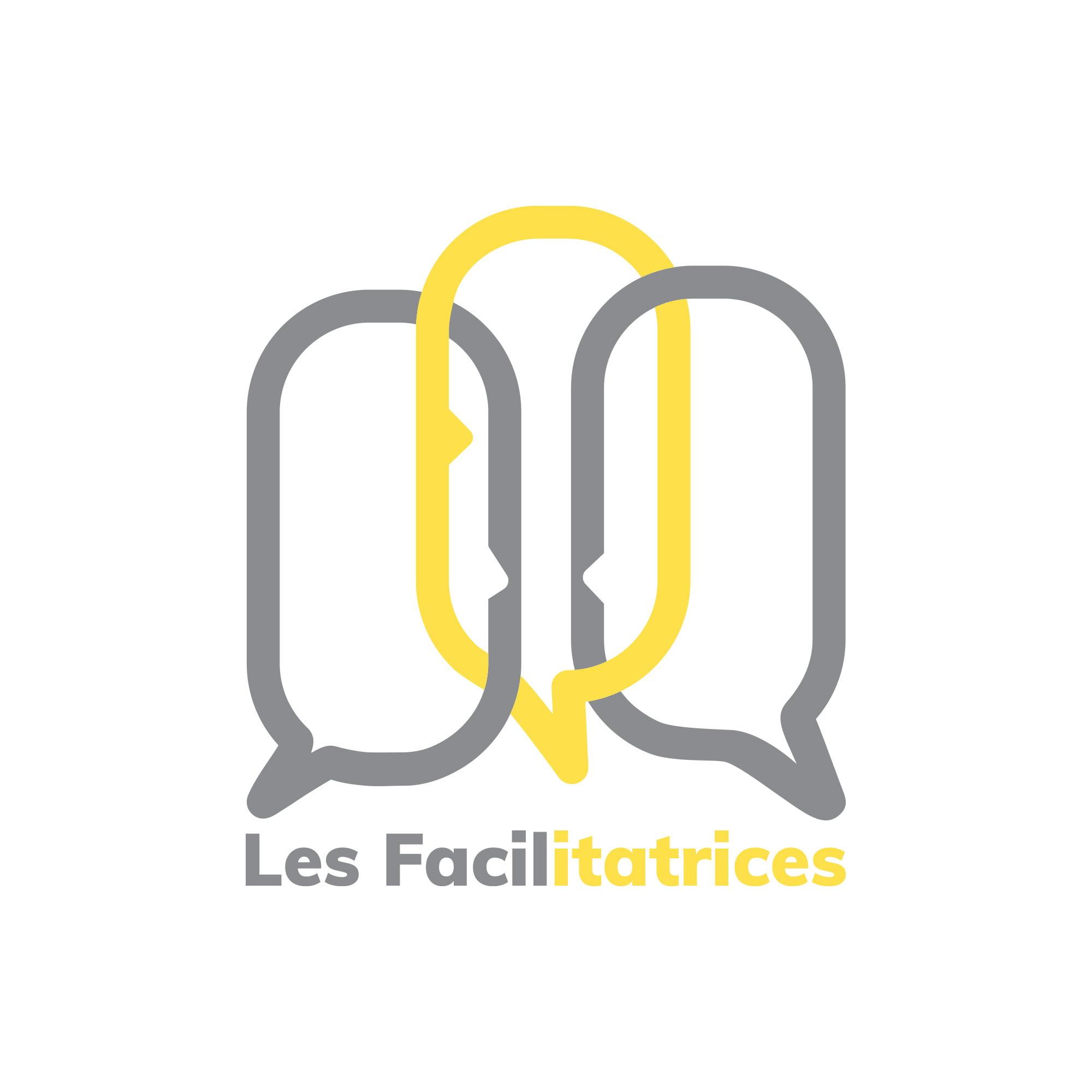 Les Facilitatrices logo sur fond blanc