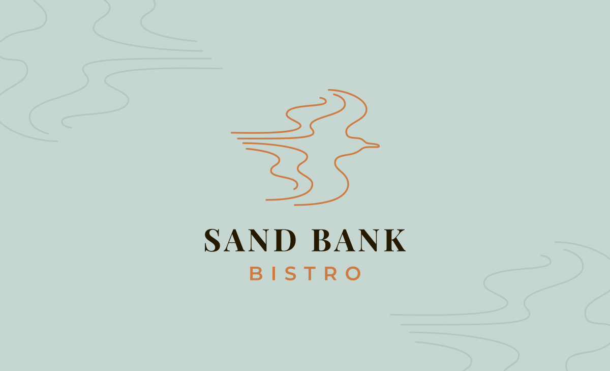dining sand bank bistro logo