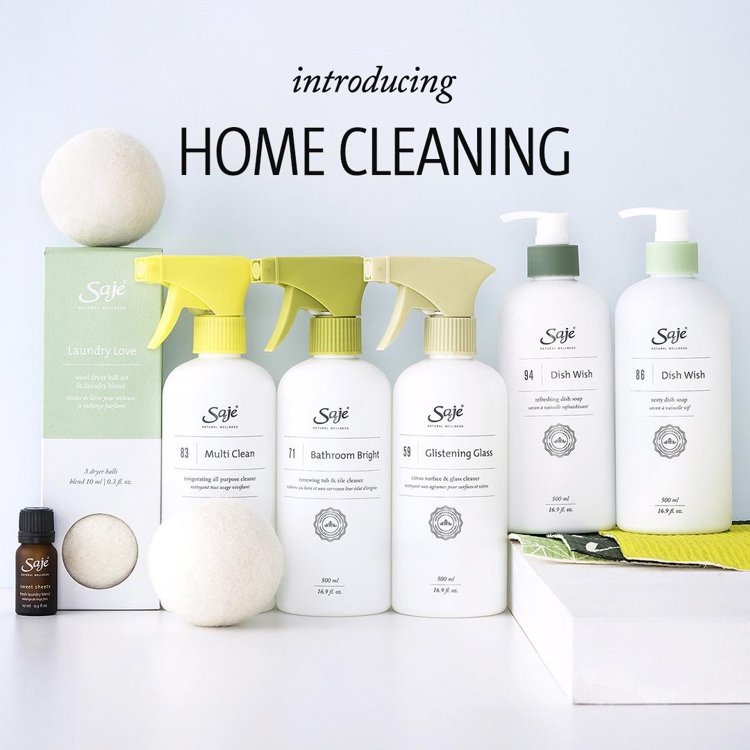 Saje.com home cleaning