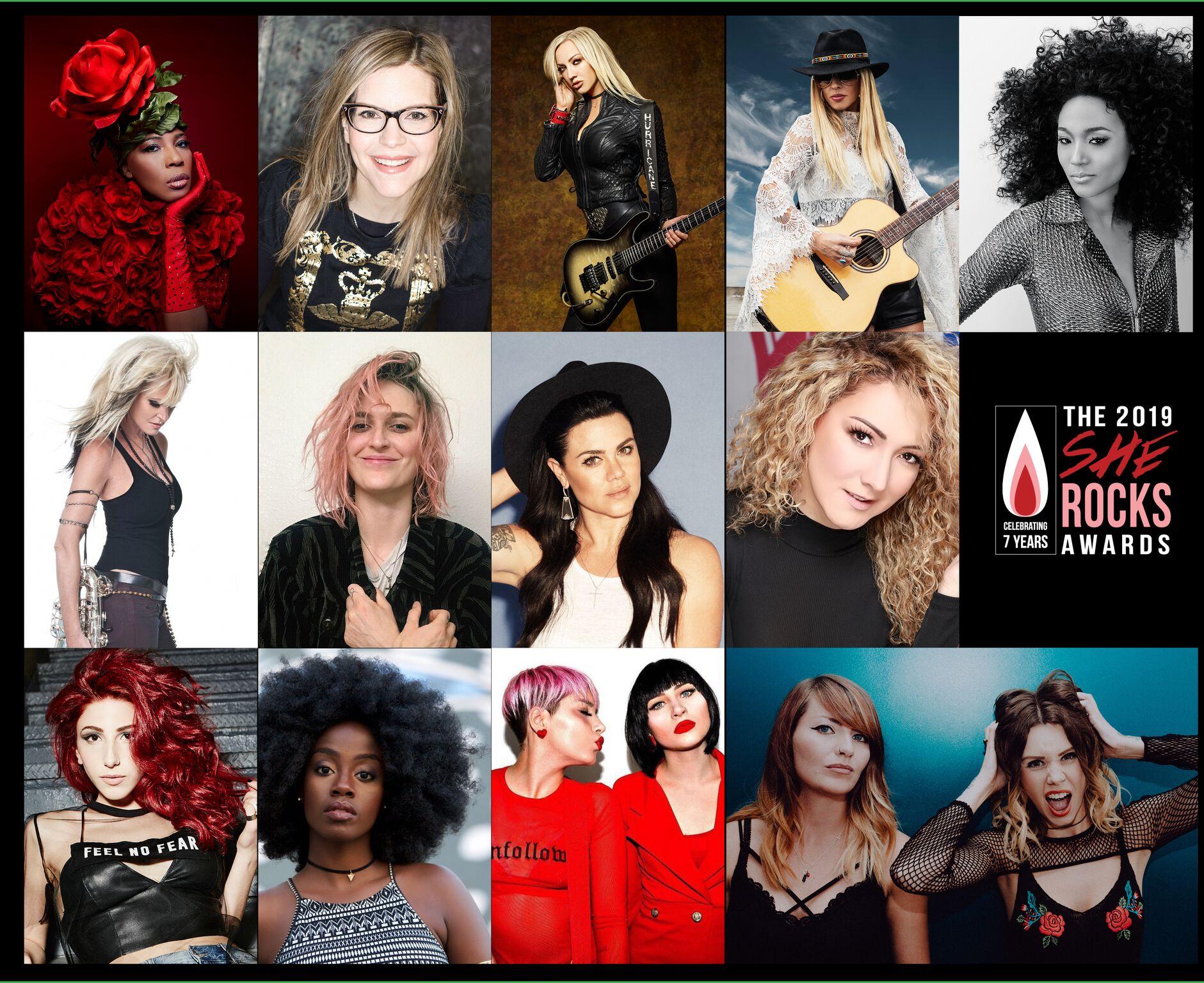 2019 She Rocks Awards Performers Orianthi, Macy Gray, Judith Hill