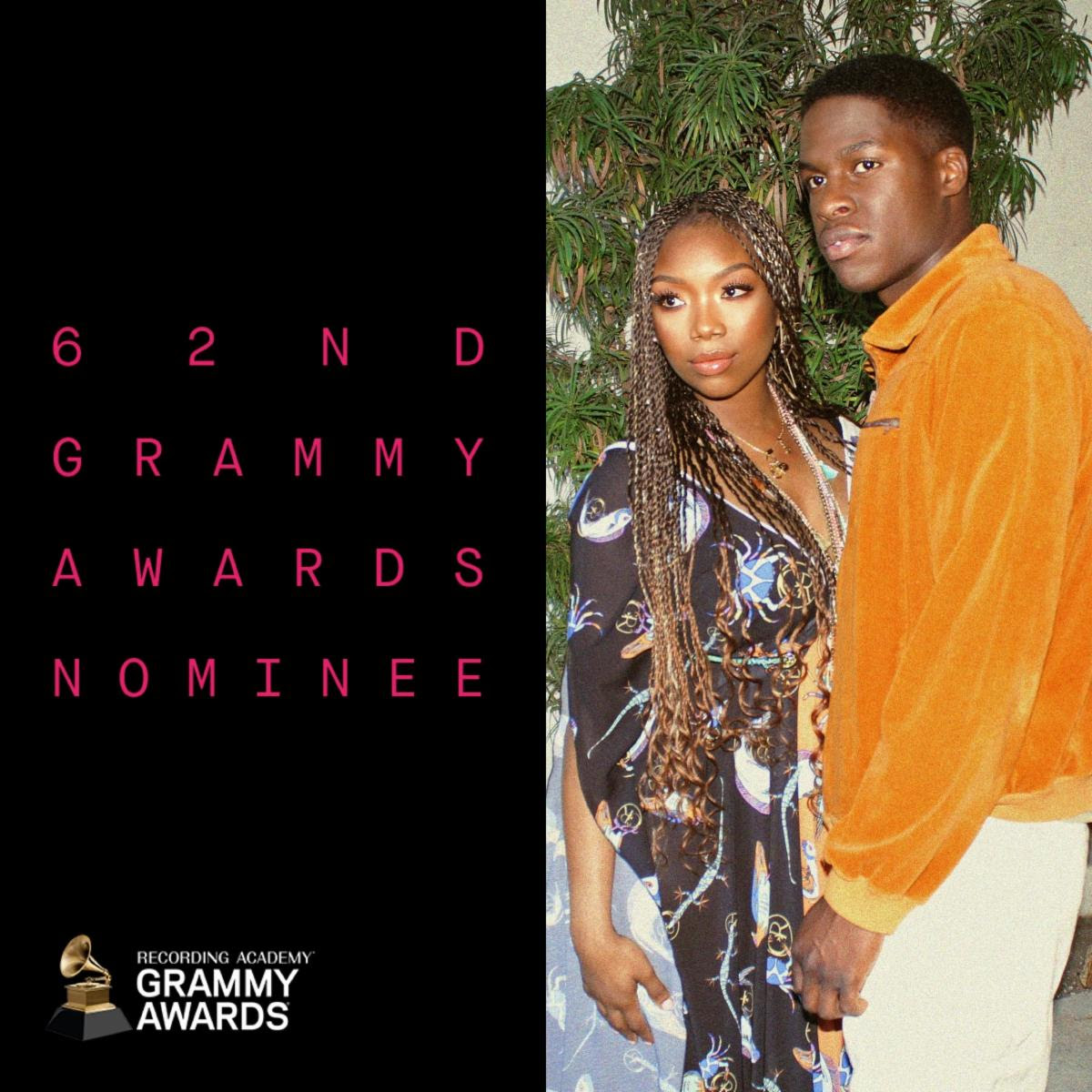 DANIEL CAESAR & BRANDY EARN GRAMMY® NOMINATION