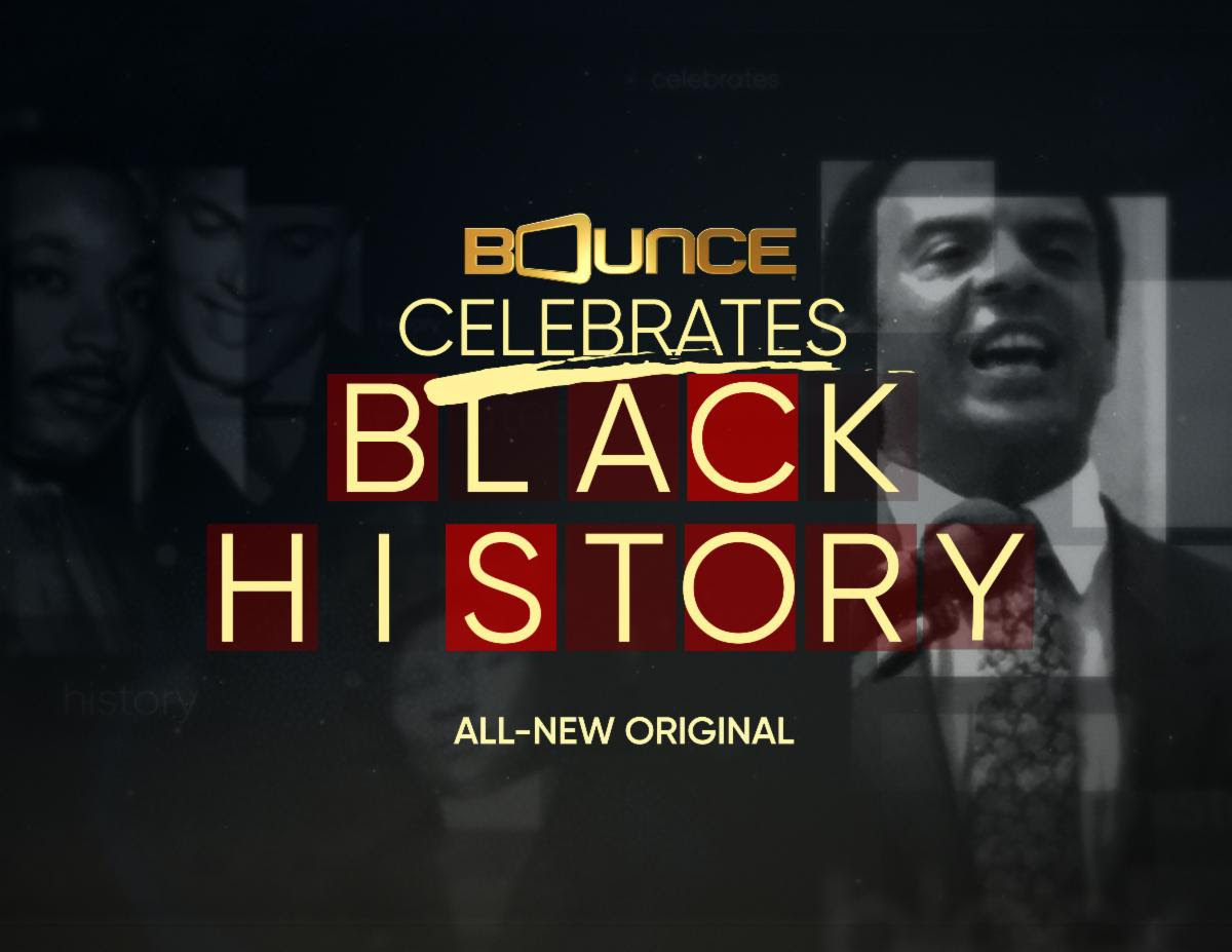Bounce to World Premiere Black History Month Special Starring Queen Latifah, Common & Harry Belafonte