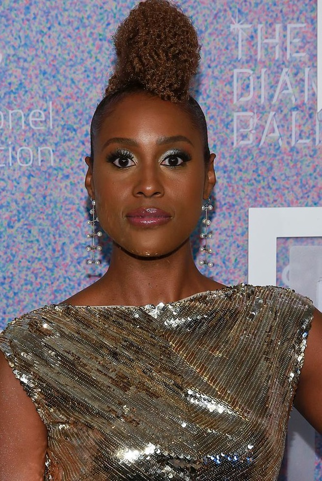Issa Rae fall beauty now