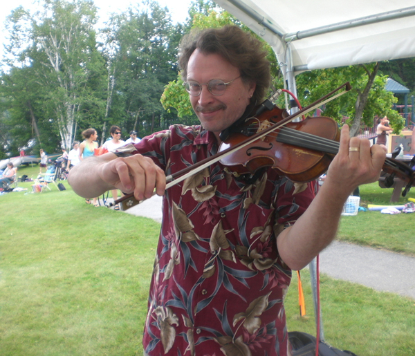 Doug Reid at Silver Lake