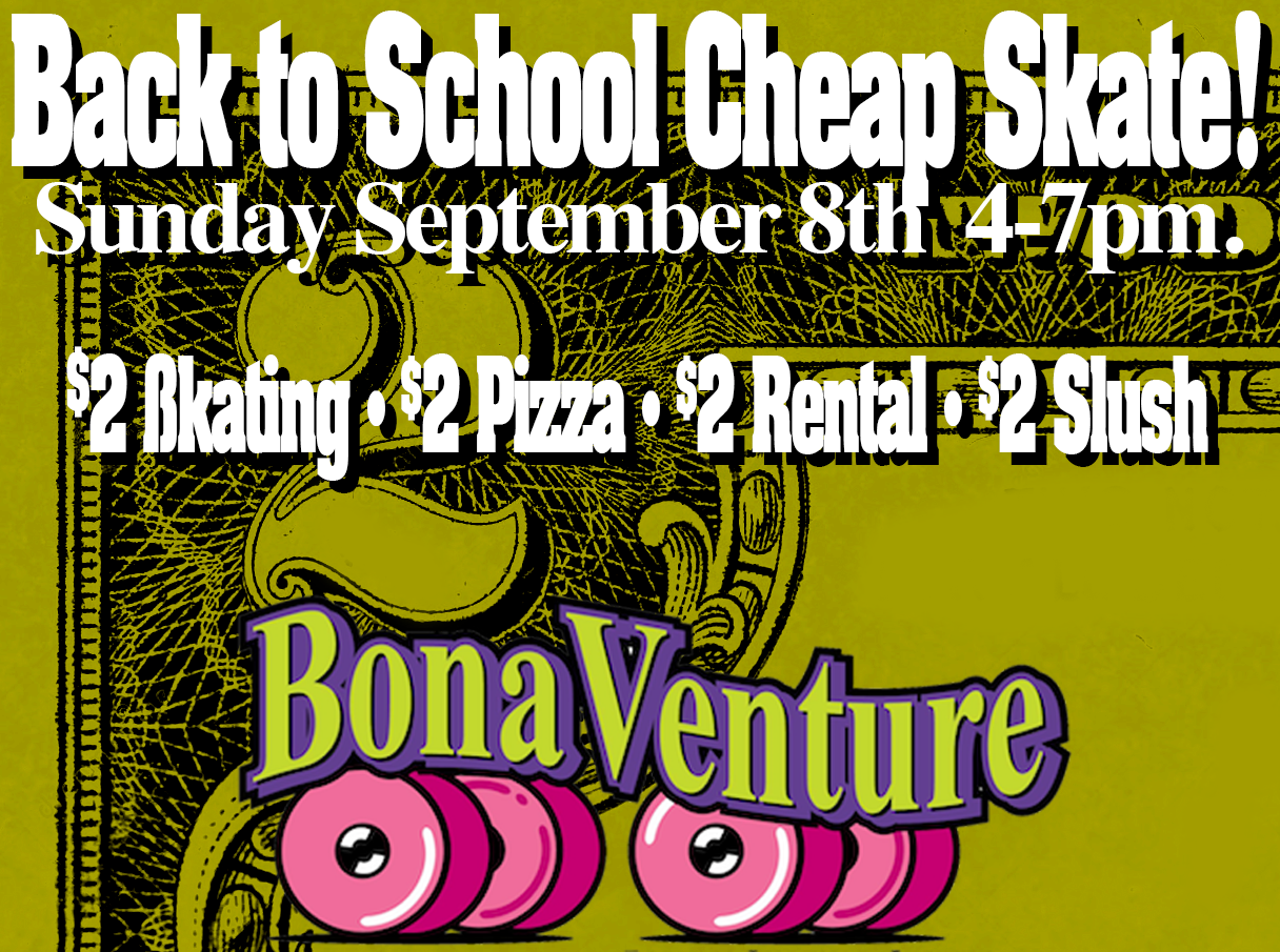 $2 Back to School Cheap Sk8