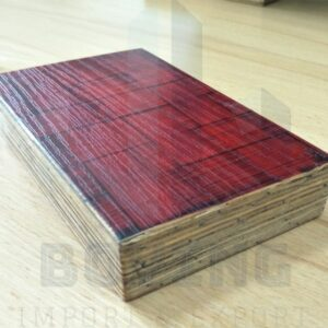 Woven bamboo veneer surface Container Floor