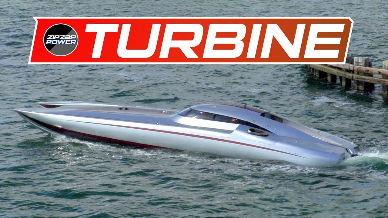 Mystic Turbine Powerboat