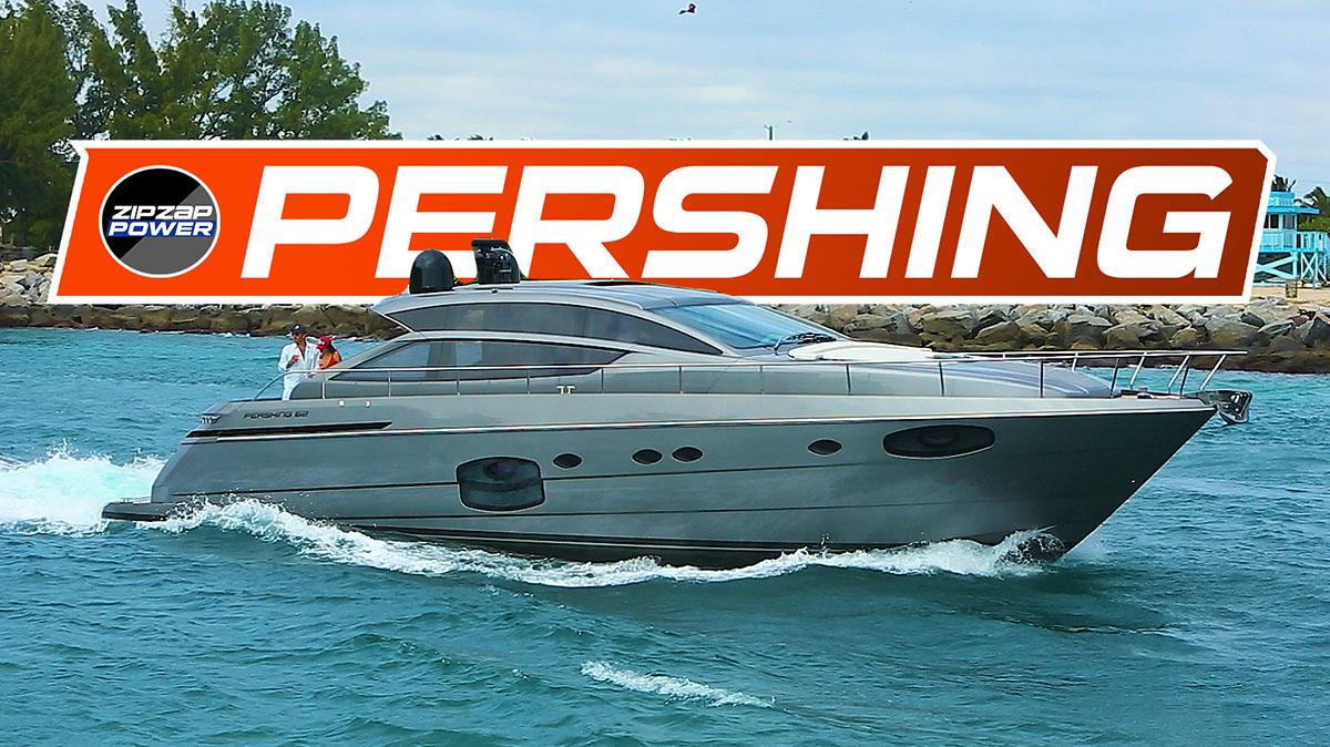 Pershing Yachts Videov