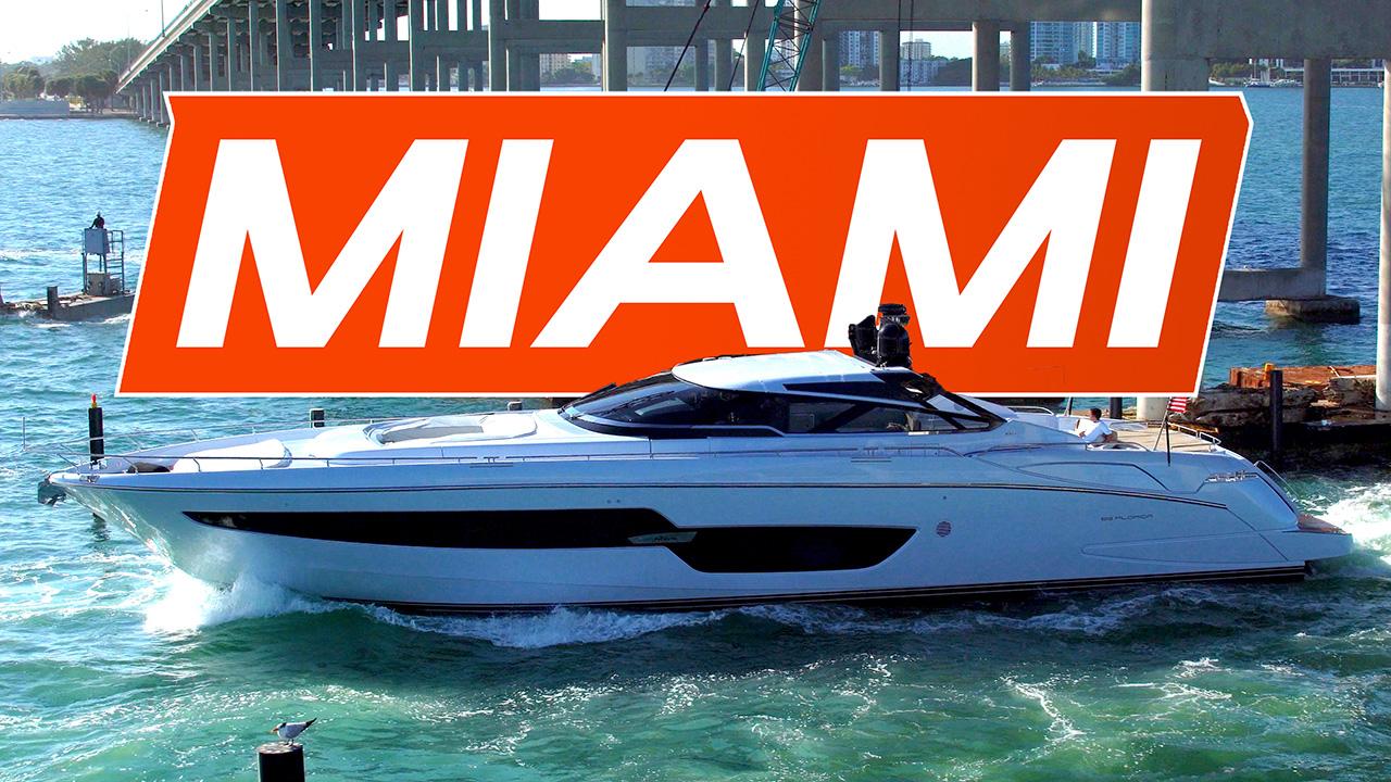 Miami Boat Show Yachts