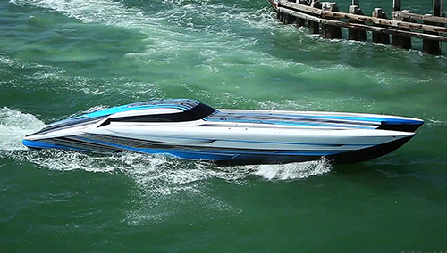 Outerlimits boat JET SC 46