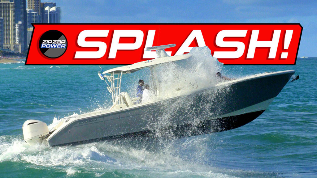 Splash Boats in Rough Seas at Haulover