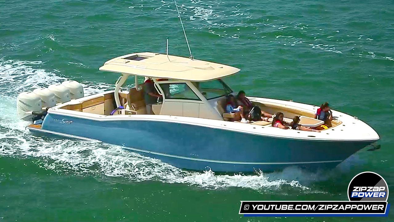 Demo Boats at the Miami Boat Show