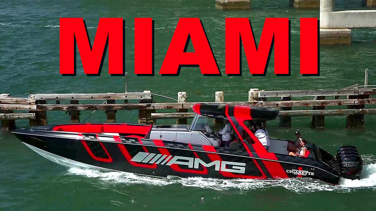 Center Consoles at the Miami Boat Show