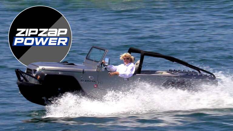 WaterCar Panther Amphibious Vehicle