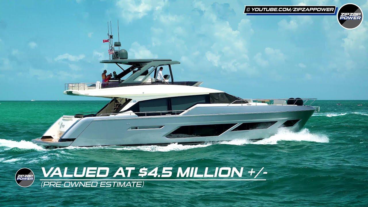 Ferretti 720 in Miami