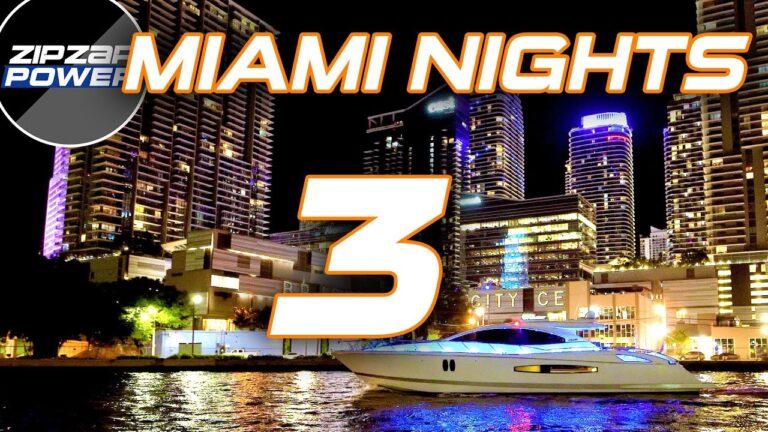 MIAMI YACHTS AT NIGHT / 3