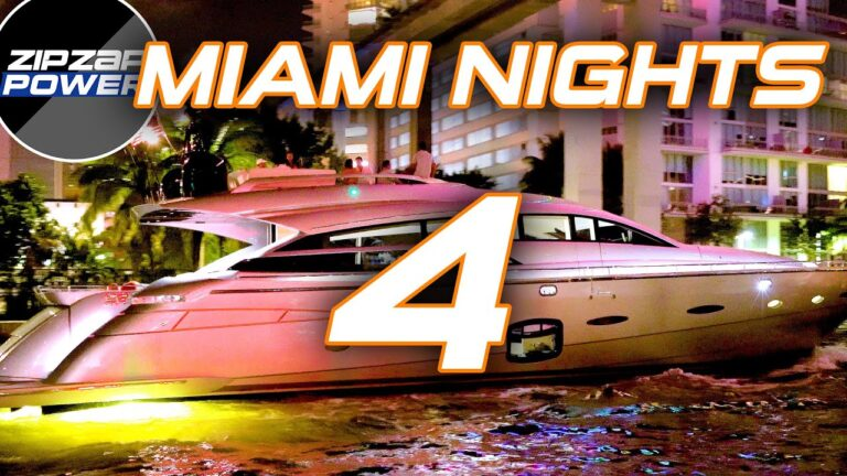 MIAMI YACHTS AT NIGHT / 4