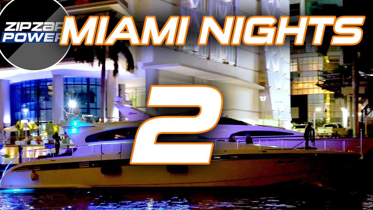 Yachts at Miami River 2
