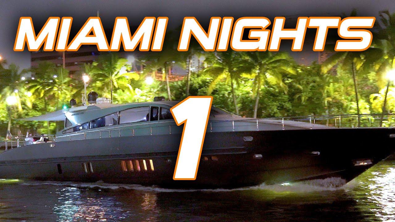 Miami River Night
