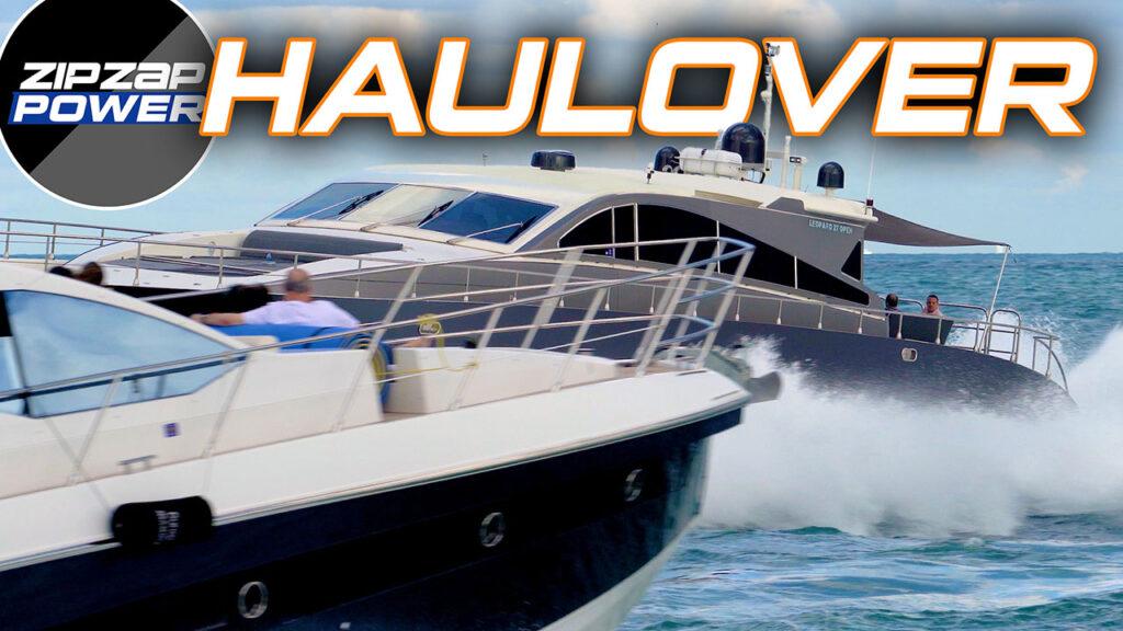 Big Yacht at Haulover