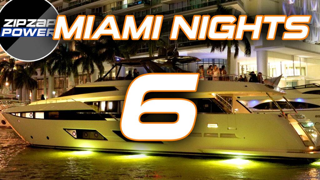 Miami Nights Boat Lights