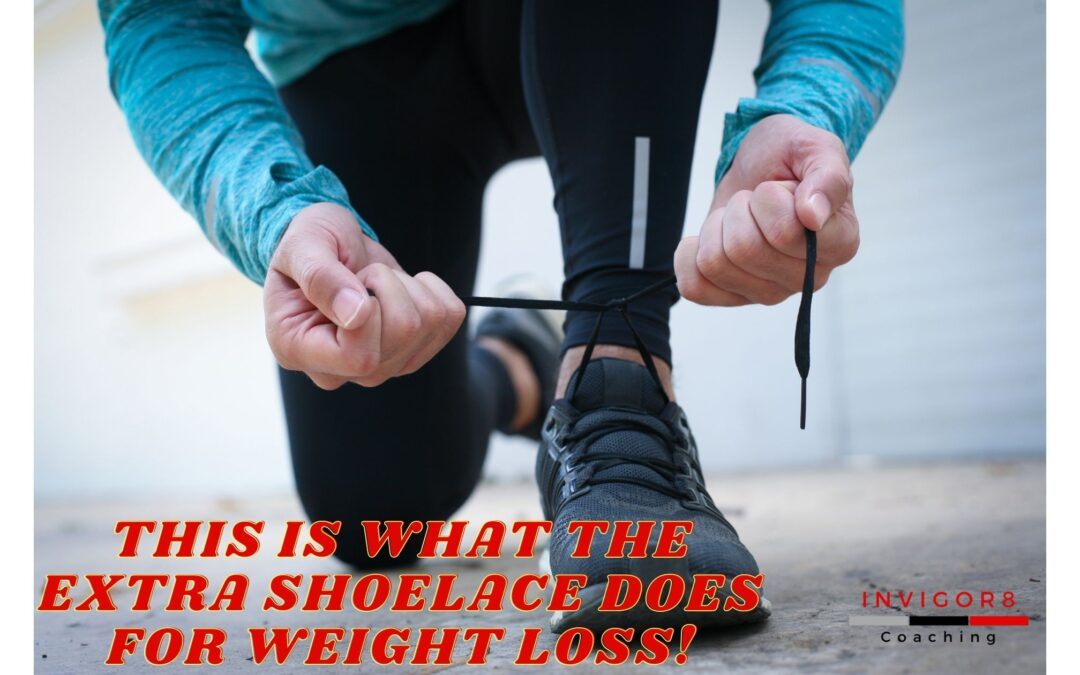 THIS IS WHAT THE EXTRA SHOELACE DOES FOR WEIGHT LOSS!